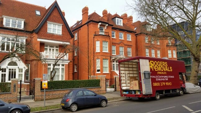 home removals north london
