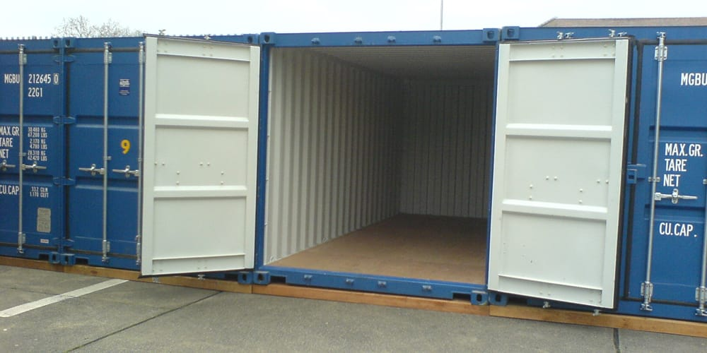 Containerised Self Storage North London Rogers Removals