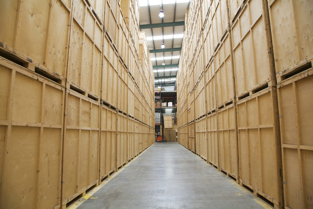 containerised storage Rogers Removals